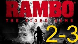 Rambo The Video Game прохождение миccия 2 и 3. Рембо побег из тюрьмы, охота на рейнджеров
