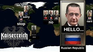 Hearts of Iron 4 - Kaiserreich Mod - Russia! - Part 1