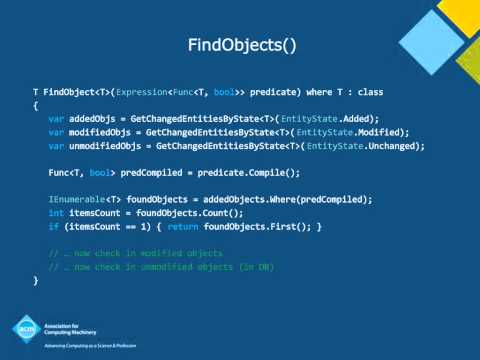 """Data Access and Entity Framework,"" Terry Coatta"