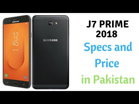 Samsung Galaxy J7 Prime 2018 Specs And Price In Pakistan Youtube