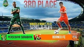 Video Gol Pertandingan Pusamania Borneo FC vs Persebaya Surabaya