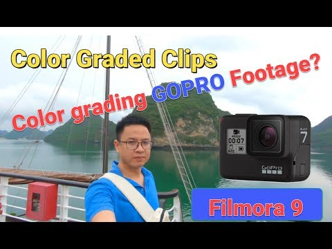 How to Color Grading Your Gopro Footage Using Filmora 9