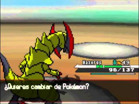 Pokémon Black & White - Gaiser vs Lirio