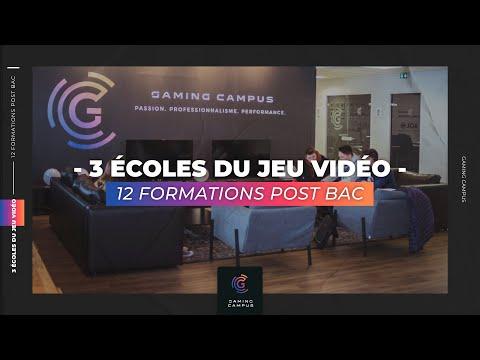 Gaming Campus : 4 écoles Jeux Vidéo (Business / Tech / Design / Esport)