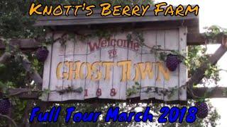 Knott's Berry Farm Full Tour - Buena Park, California,