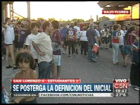 C5N -  FUTBOL: SE PORTERGA LA DEFINICION DEL TORNEO INICIAL