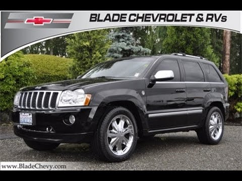 2006 jeep grand cherokee overland e848b youtube. Black Bedroom Furniture Sets. Home Design Ideas