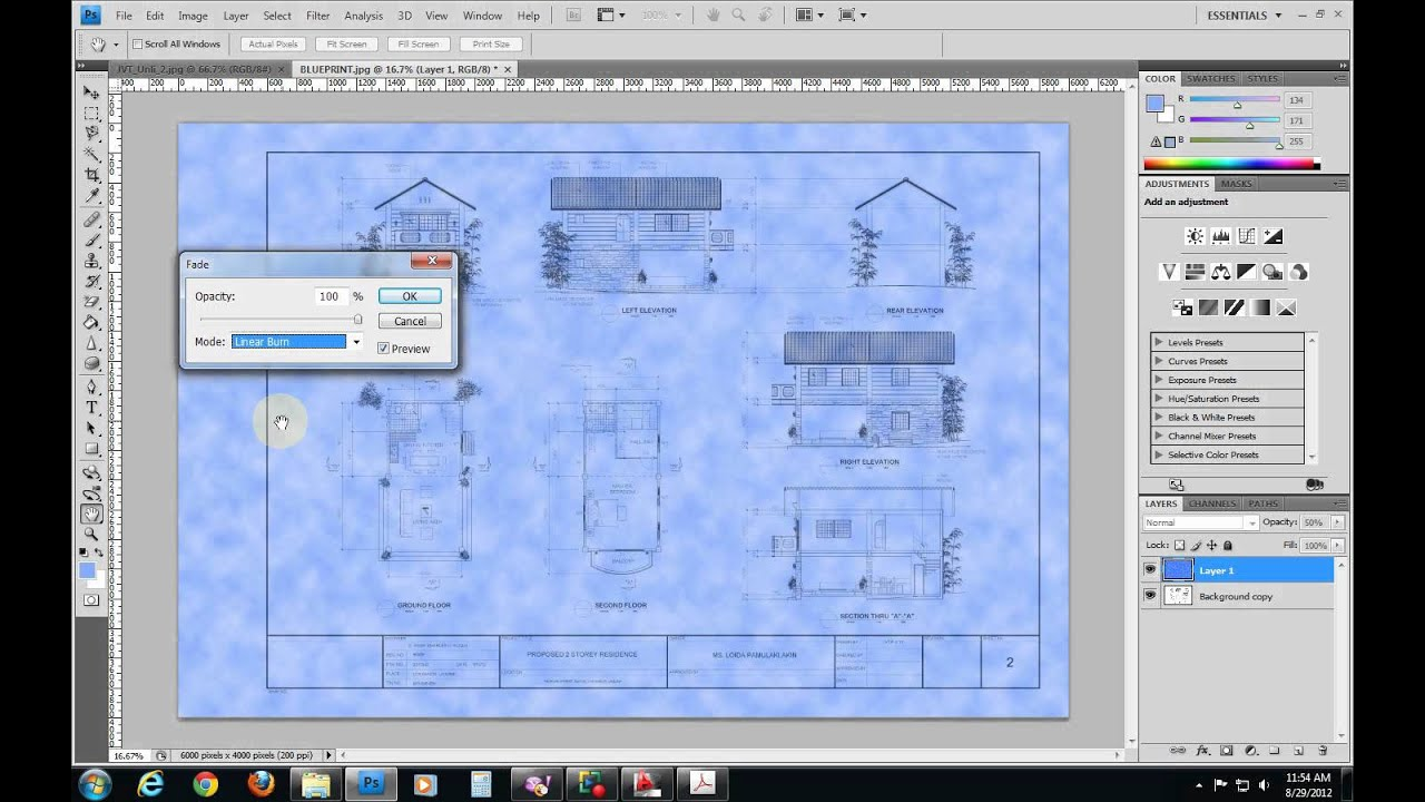 Instant blueprint construction drawing e file version youtube instant blueprint construction drawing e file version malvernweather Images