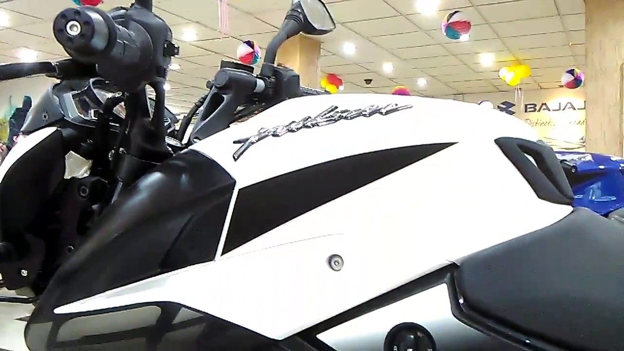 Pulsar Ns 160 Bike Bd White Color Youtube Look Youtube