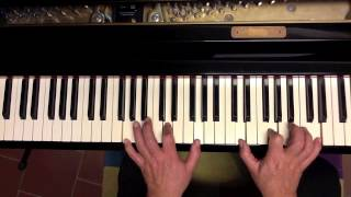 Tutorial piano y voz Strangers in the night (Frank Sinatra)