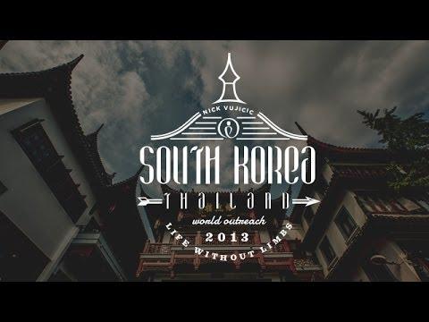 Nick Vujicic World Outreach Episode 7 - South Korea & Thailand| Life Without Limbs