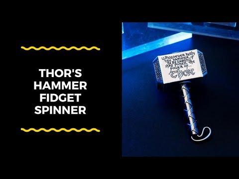 METAL THOR'S HAMMER FIDGET SPINNER