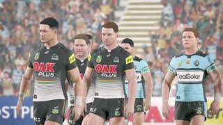 Rugby League Live 4 (PS4) Panthers vs Sharks (2018 round 18)