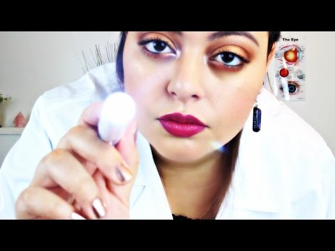 ASMR| Eye Examination| Optometrist Exam| Full Check Up RP