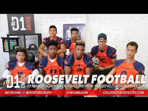 2016 Roosevelt High School Football Honors Coach Buster