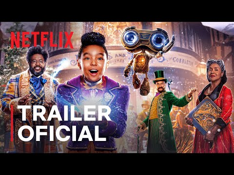 Uma Invenção de Natal   Tudo é Possível   Trailer oficial   Netflix