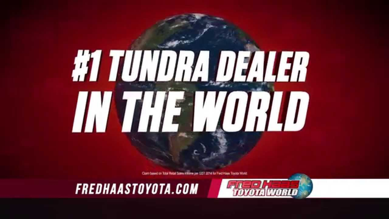 Fred Haas Toyota World Annual Clearance Event Tundra Youtube