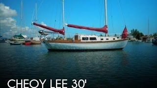 Used 1966 Cheoy Lee Bermuda 30 For Sale In Marathon, Florida