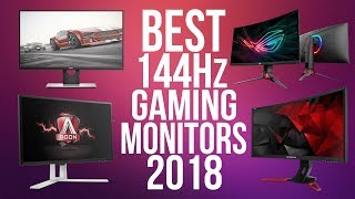 Best 144Hz Gaming Monitors in 2018 | Top 10 Best 144Hz Monitor