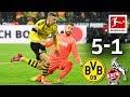 Borussia Dortmund Vs. 1. FC Köln I 5-1 I Haaland's Record Goals & More
