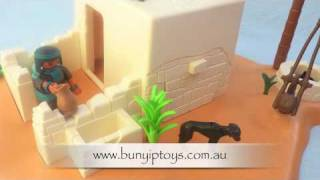 Playmobil Egyptian Tomb Robber Hideout 4246 from www.bunyiptoys.com.au Thumbnail