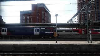 Class 333 leaving Leeds