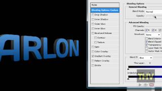 How To Make 3D Text In Adobe Photoshop CS3/CS4