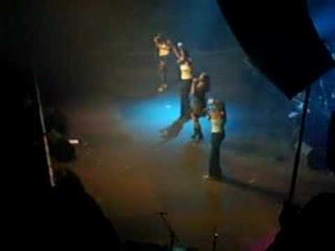 Natalia & The Pointer Sisters - Antwerp Nov 17Th 2007