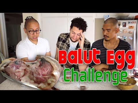 OMG! RARE BALUT (Aborted Duck Egg) CHALLENGE (feat. Soundlyawake & Kennen Navarro)