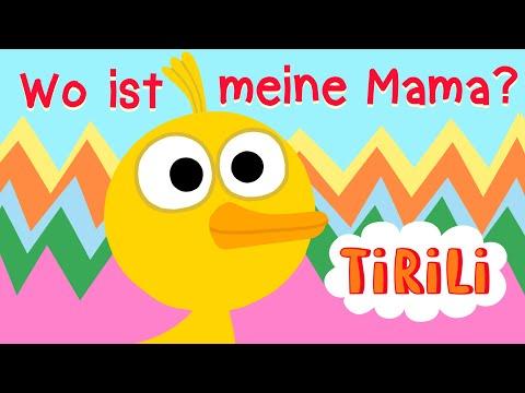 Kinderlied Küken 🐣   Wo Ist Meine Mama ?   TiRiLi - Kinderlieder Zum Tanzen
