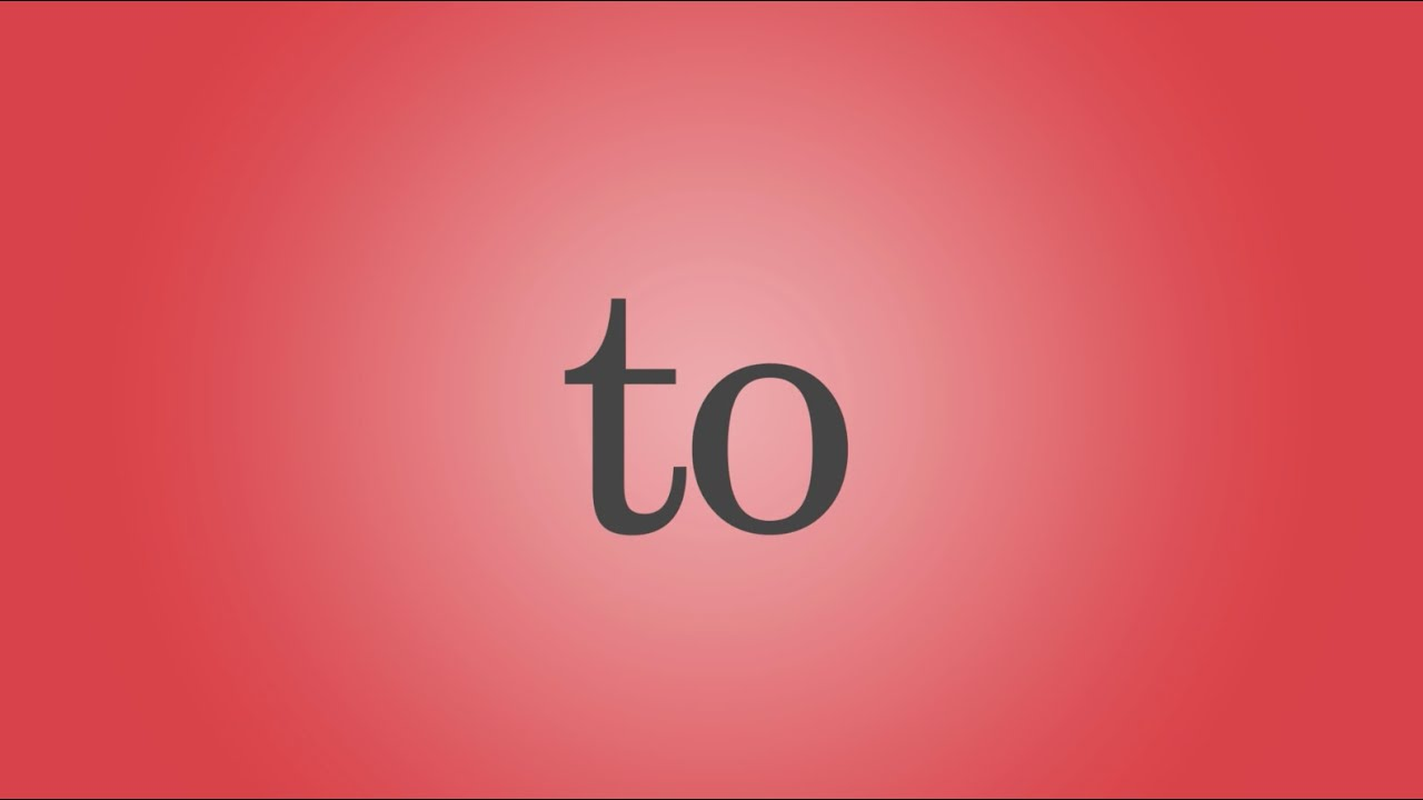 To Song (Audio) - YouTube c049ee58b56