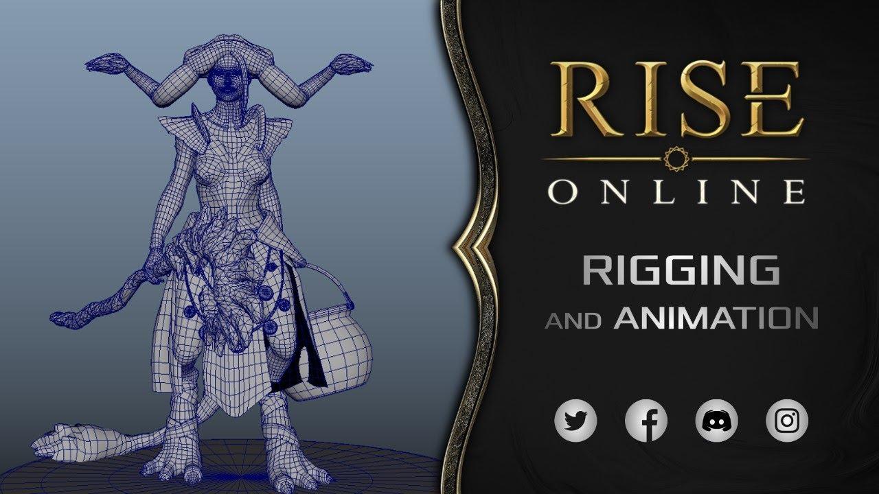 Rise Online World - NPC Animation | Neoka