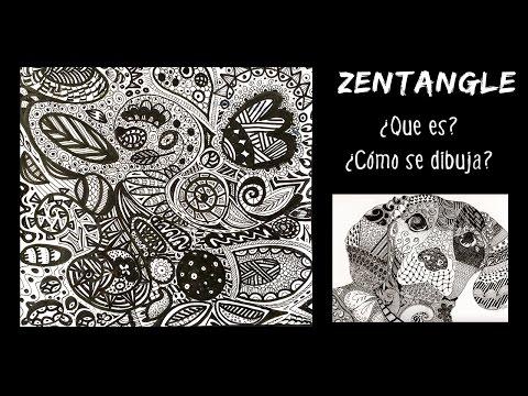 ZENTANGLE Art * Qué es y cómo se hace
