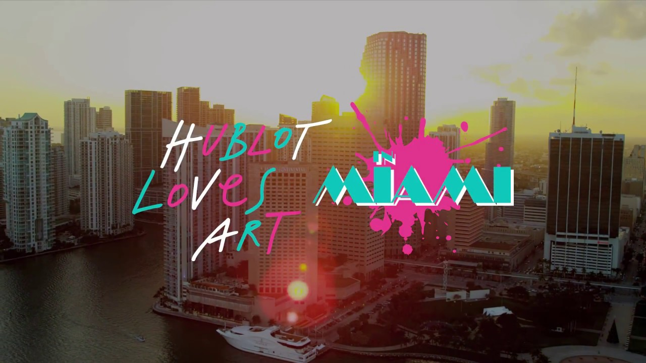HUBLOT DESIGN PRIZE IN MIAMI
