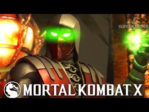 """KRIMSON ERMAC MASTER OF SOULS VORTEX! - Mortal Kombat X: """"Ermac"""" Gameplay"""