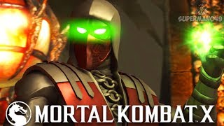 KRIMSON ERMAC MASTER OF SOULS VORTEX Mortal Kombat X Ermac Gameplay