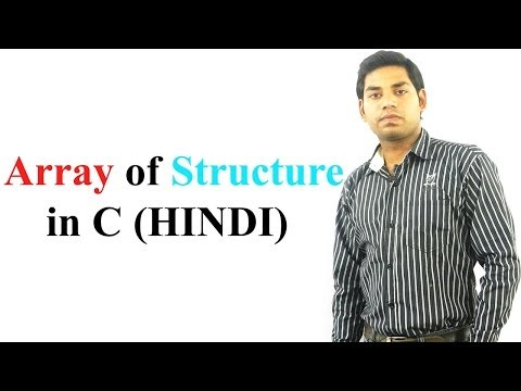 Download Youtube: Array of Structure in C (HINDI)
