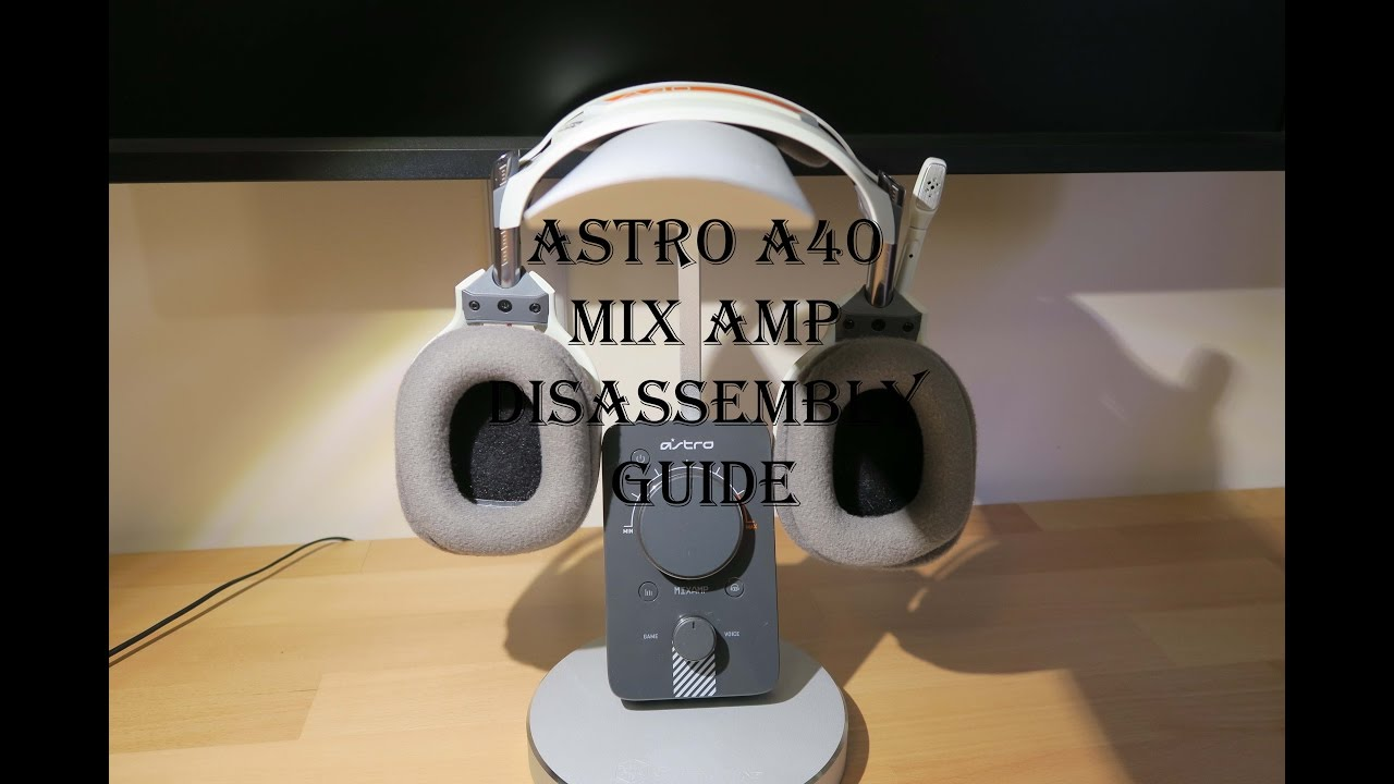 d326abcd698 Astro A40 mix amp disassembly guide - How to fix loss of power micro usb  port - YouTube