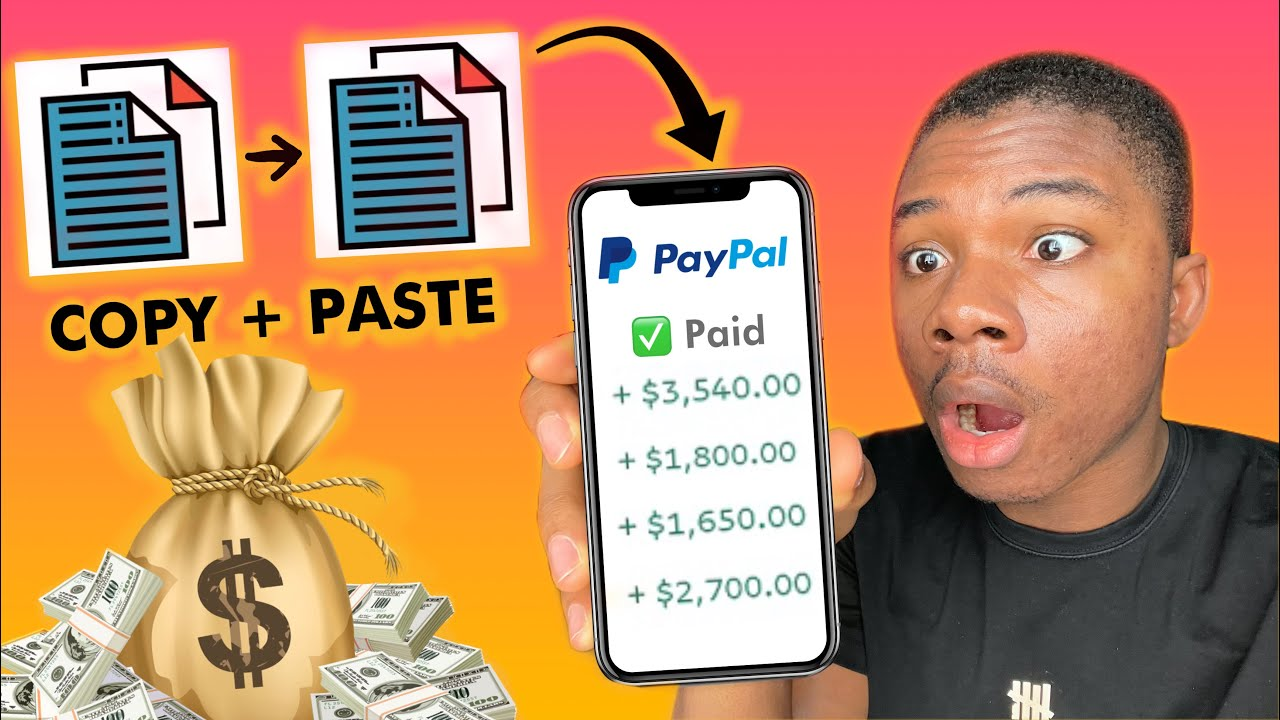 COPY AND PASTE TO EARN $67 PER 60 SECONDS! (Make Money Online 2021)