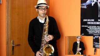 Pharrell Williams - Happy - tenor sax cover