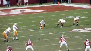 Alabama Tennessee onside kick 2009