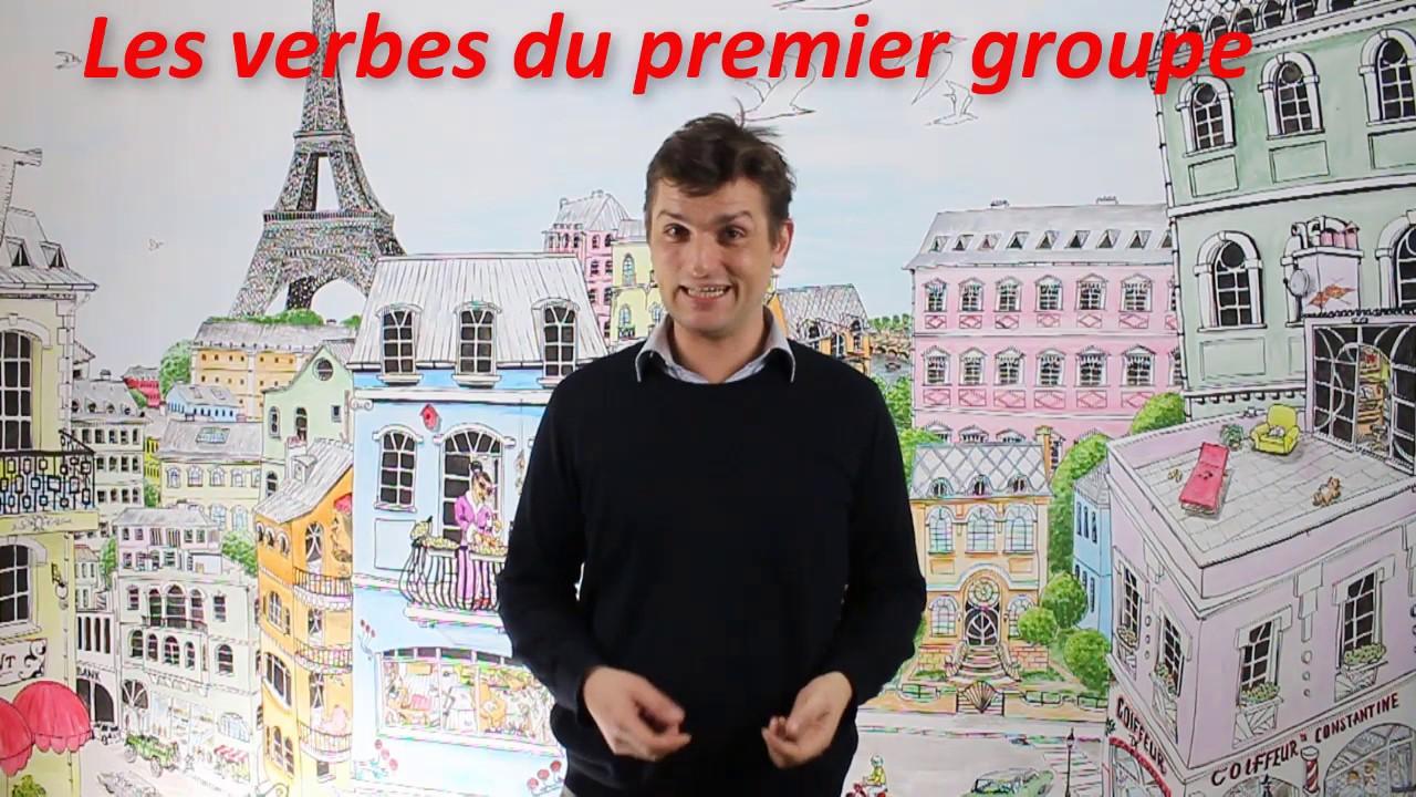 """""""la minute du français"""" Les verbes premier groupe au présent - YouTube"""