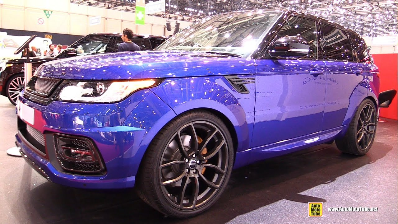 2016 Range Rover Sport Pace Car By Kahn Exterior And