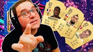 TRIO NO MEIO CAMPO VIDAL KONDOGBIA WASS | FIFA 19 FUT #21 Mp3