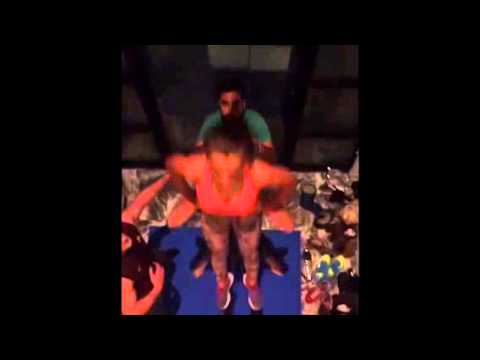 Sports Acro Play with Tari Lorin Ben and Tessa in the Living Room