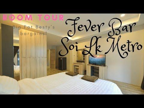 Room review! BARGAIN Fever bar, soi lk metro, pattaya, Thailand