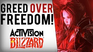 """Activision Blizzard Faces Mass Protests/Boycott, BANS Pro Player For """"Dissing"""" Chinese Govt."""