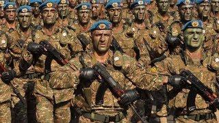Армянские военные готовятся к параду Победы в Москве