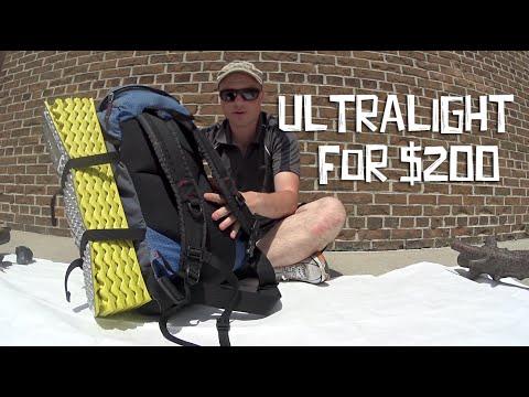 Start Backpacking Light For Cheap Youtube