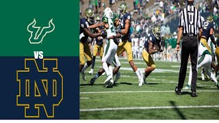 Notre Dame vs USF | Week 3 | 2020 College Football Highlights